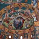 Fresca Alba Iulia vedere Apsida Sud Mucenici Nasterea Domnului Sf. Mc. Ostasi