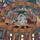 Fresca Alba Iulia vedere Apsida Nord Mucenici Invierea Domnului Sf. Mc. Ostasi