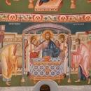 Impartasirea Apostolilor, Fresca, Altar pictura bizantina