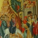 pictura bizantina   25-icoana-pe-lemn-intrarea-domnului-in-ierusalim-30x40-cm