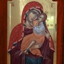 Maica Domnului, icoana pe lemn