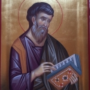 Sf. Evanghelist si Apostol Matei, icoana Bizantina