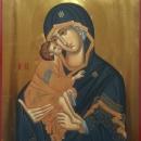 Maica Domnului cu Pruncul, Icoana Bizantina