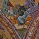 Sf. Ev. Matei Pandantiv  pictura bizantina
