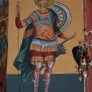 pictura bizantina  Sf. M. Mc. Dimitrie Absida Nord