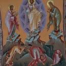 Schimbarea la fata Cafas pictura bizantina