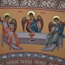 Sf. Treime Bolta Pronaos pictura bizantina