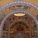 Vedere Altar si Naos pictura bizantina