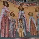Sfintii Mucenici  Brancoveni cu Sfetnicul Ianache Absida Nord